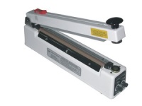 "Impulse Sealer - 16"" Magnetic Impulse Hand Sealer with Cutter, 5mm Seal"