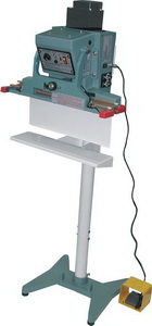"Foot Sealer - 18"" Automatic Double Impulse Vertical Foot Sealer, 5mm seal"