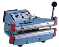 "Impulse Sealer - 12"" Double Impulse Hand Sealer, 10mm"