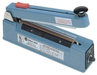 "Impulse Sealer - 8"" Impulse Hand Sealer with Cutter, 5mm Seal"