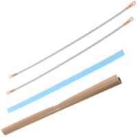 "Repair Kits - 12"" Foot Impulse Sealer Repair Kit with Ptfe and Wire - 5mm Seal"